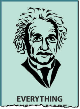 Albert Einstein top 2 infographic 2
